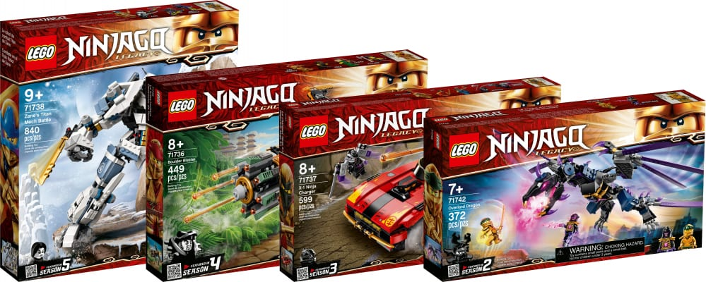 lego ninjago legacy