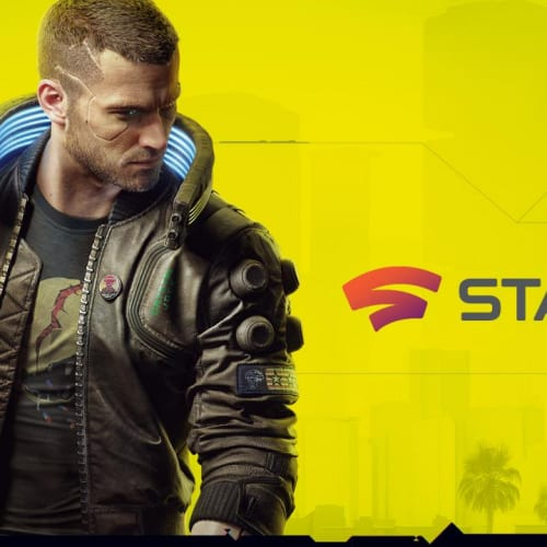 Cyberpunk 2077 Stadia cover
