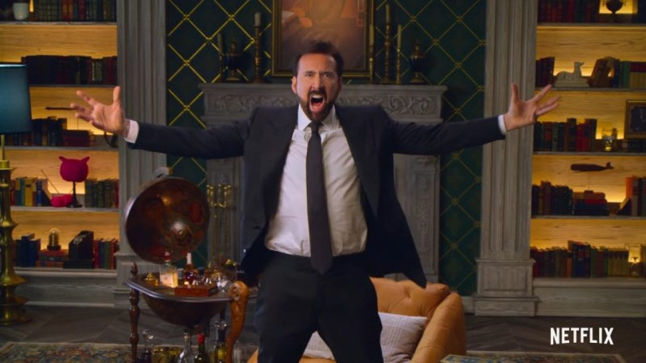History of Swear Words: l'esilarante trailer della serie Netflix con Nicolas Cage