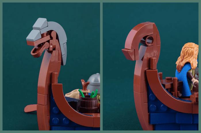 LEGO nave vichinga