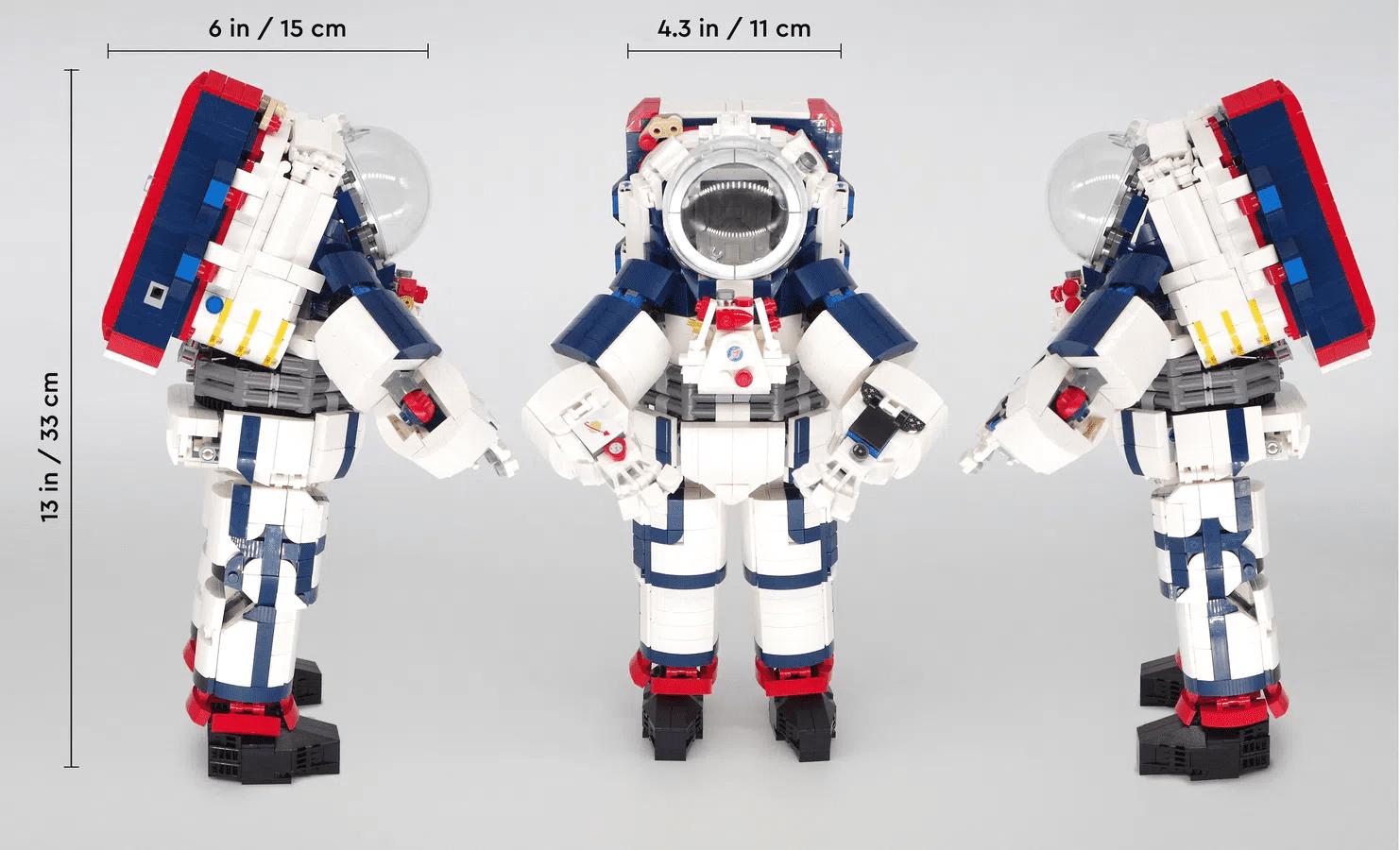 LEGO Artemis Spacesuit