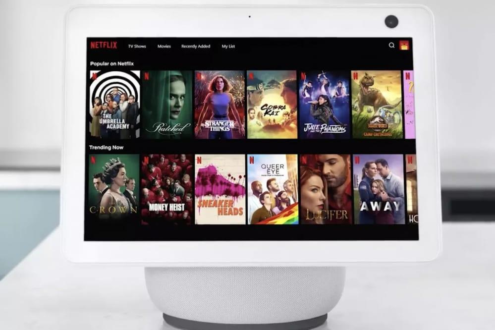 Netflix è finalmente disponibile anche su Amazon Echo Show