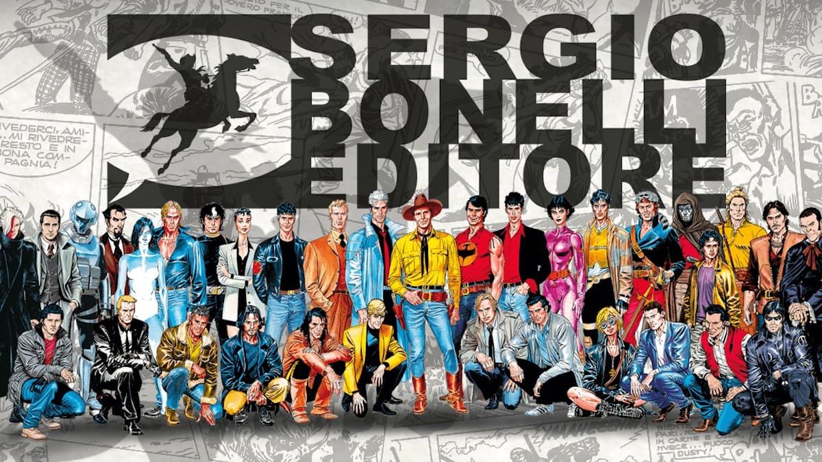 Sergio Bonelli Editore salterà tutte le manifestazioni in presenza fino a primavera 2022