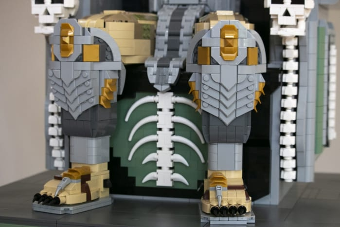 LEGO Predator Trophy Throne