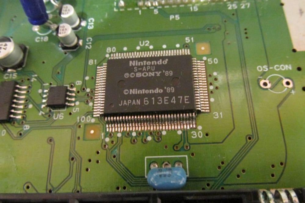 SNES chip