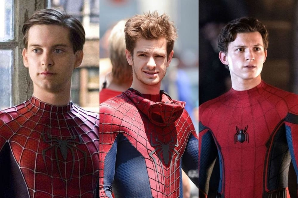 Spider-Man 3, Maguire, Holland, Garfield