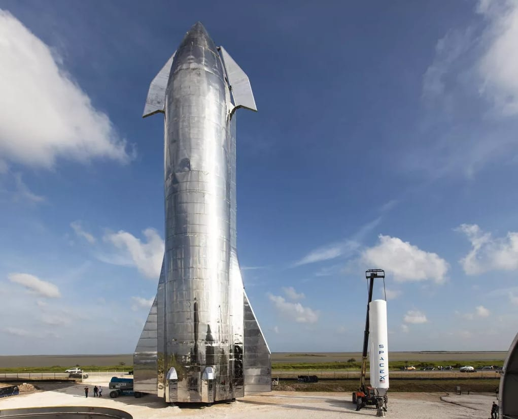 SpaceX: Starship si sta preparando al primo test di volo orbitale