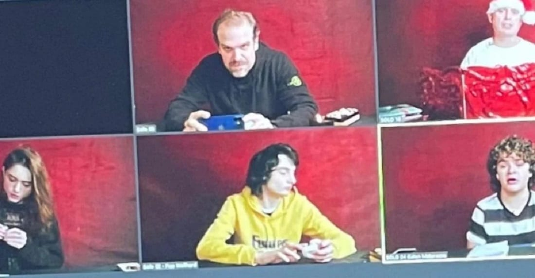 Stranger Things: il cast gioca a D&D su Zoom