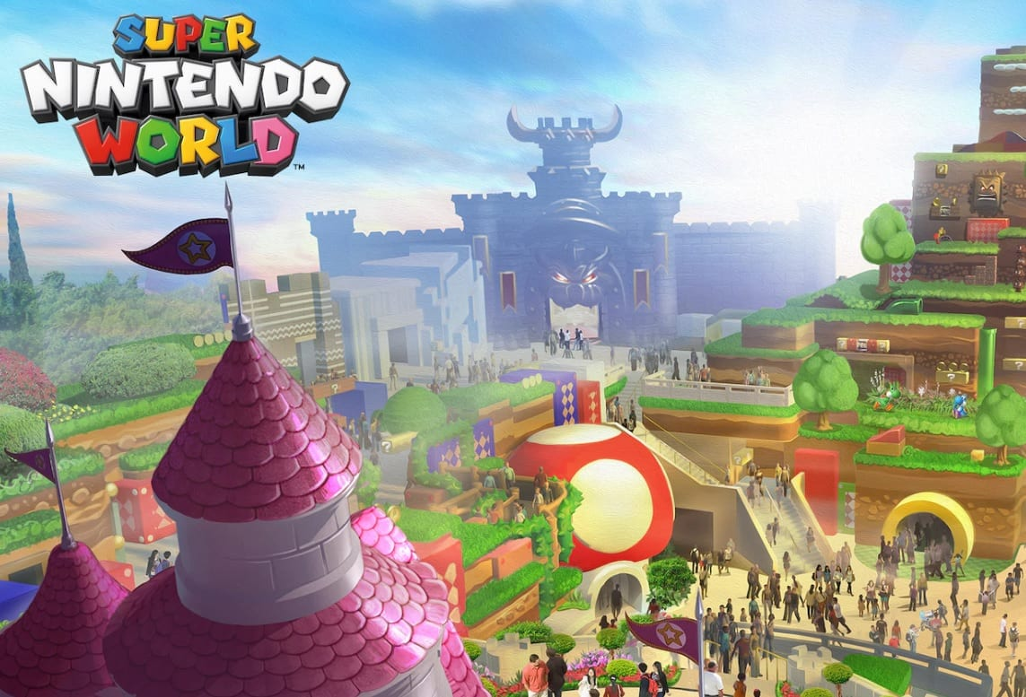 Super Nintendo World: ecco il video tour in compagnia di Shigeru Miyamoto!