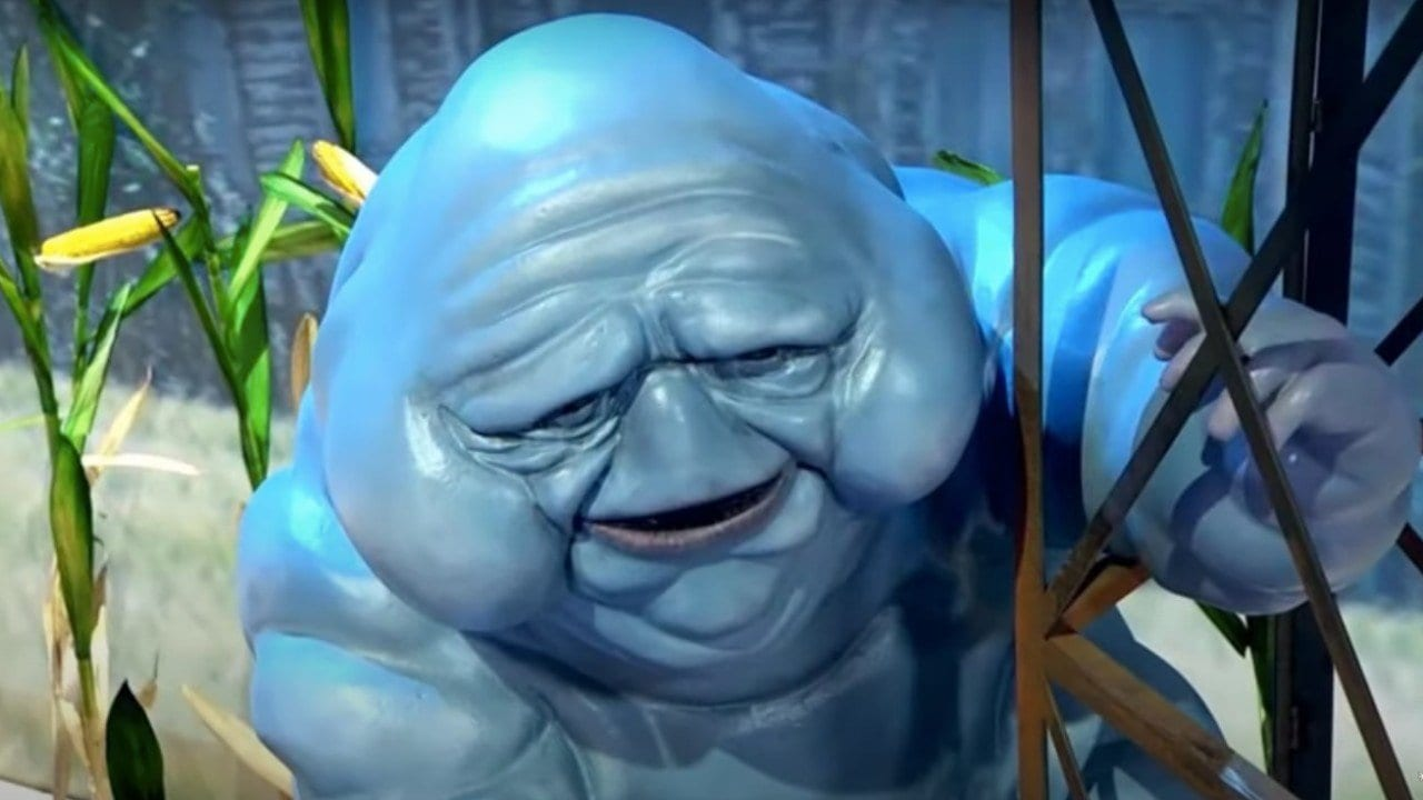 Ghostbusters: Legacy - Lo Slimer del film è blu (immagine)