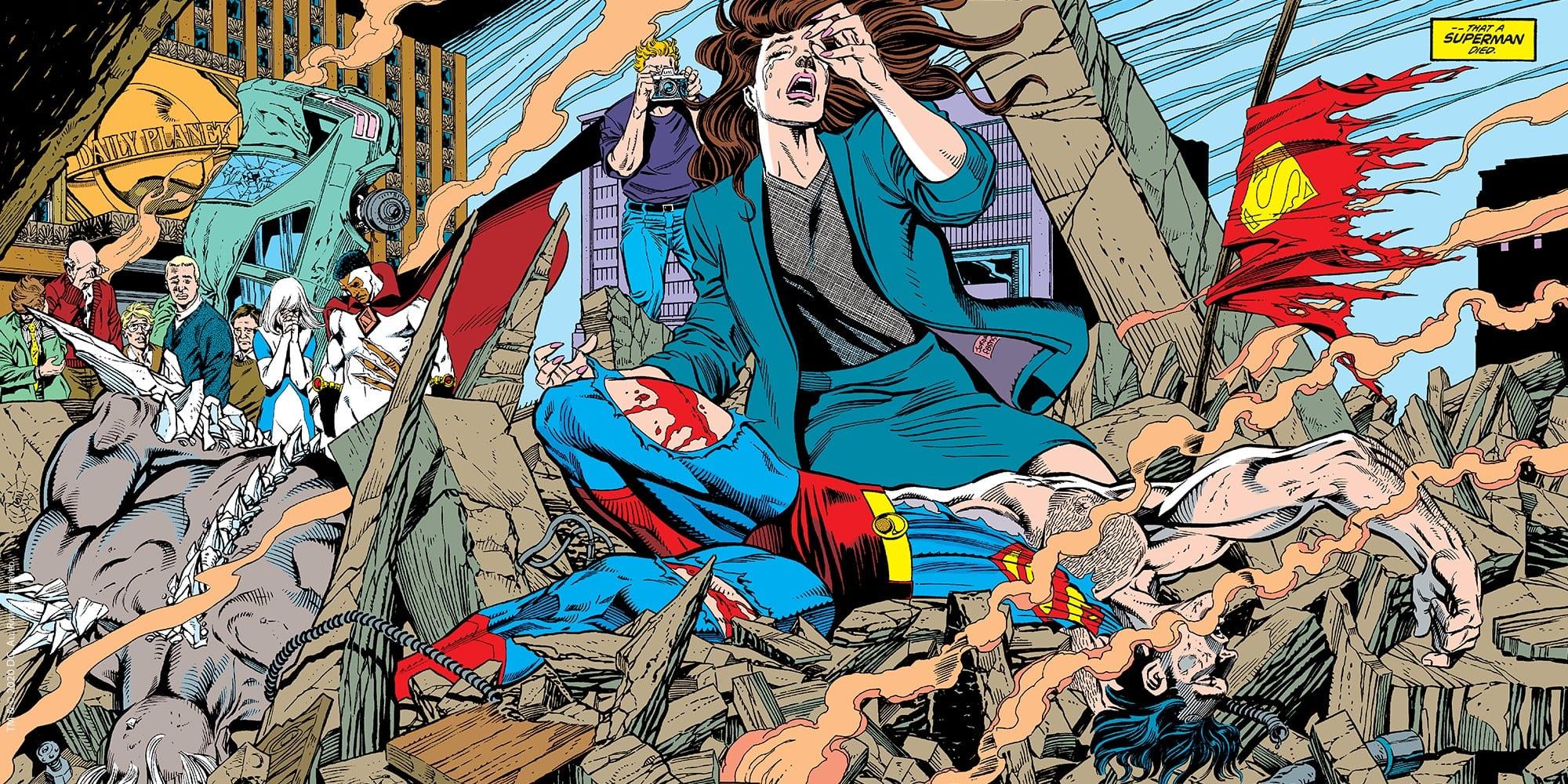 La morte e il ritorno di Superman: Panini corregge l'errore di stampa e aggiunge l'autografo di Dan Jurgens