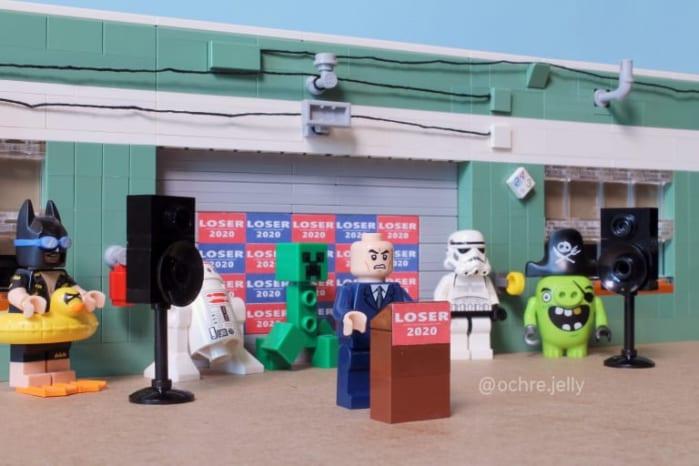 LEGO Bernie Sanders
