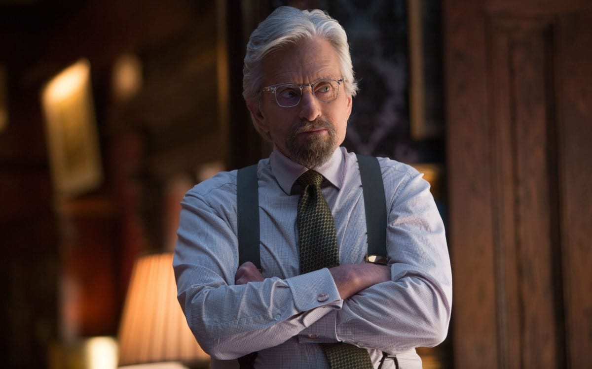 Ant-Man and the Wasp: Quantumania, Michael Douglas è ancora Hank Pym