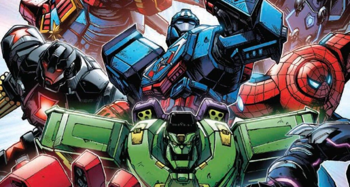 Avengers Mech Strike: le prime tavole del fumetto Marvel