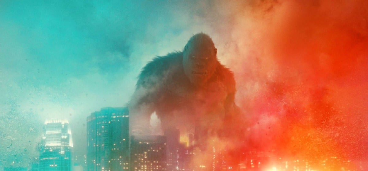 Godzilla vs Kong: il nuovo poster del monster movie