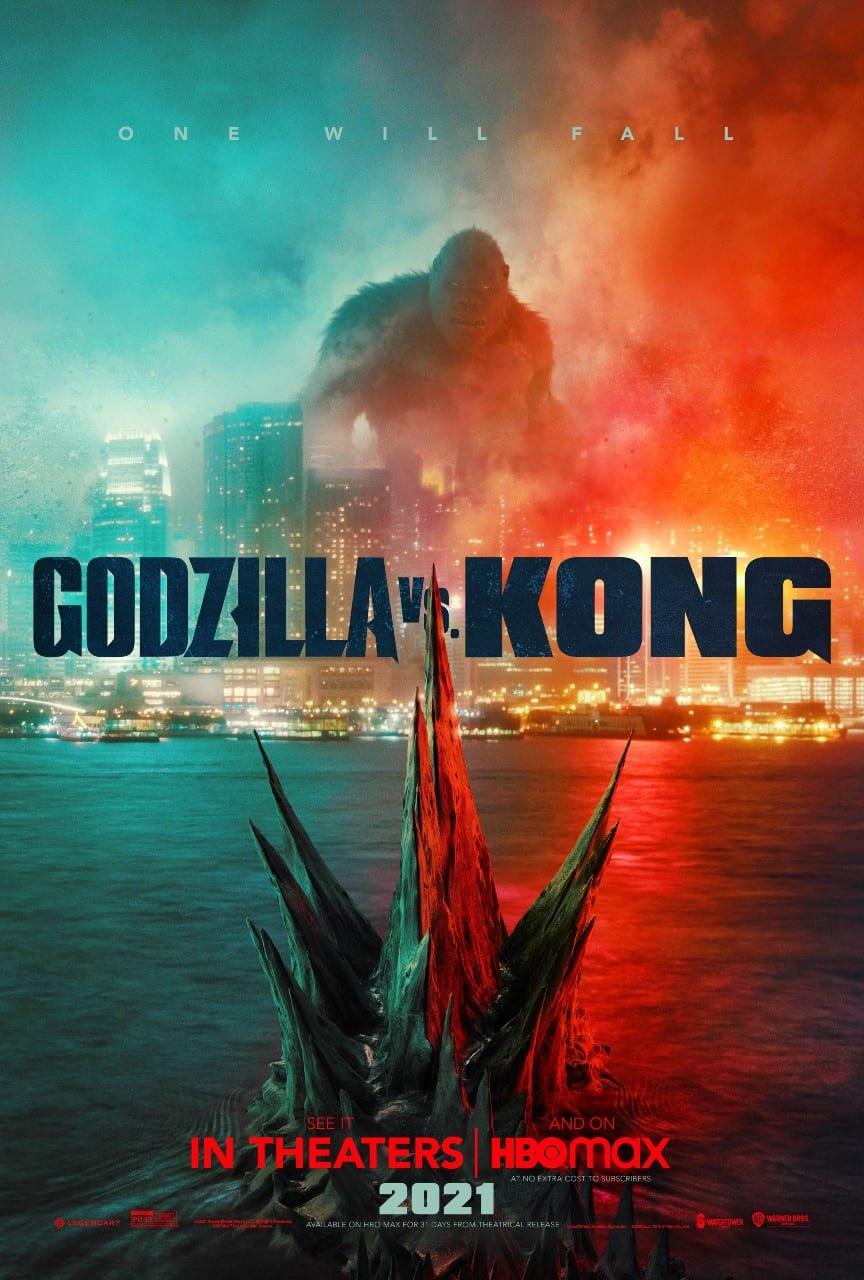 il poster di Godzilla vs Kong