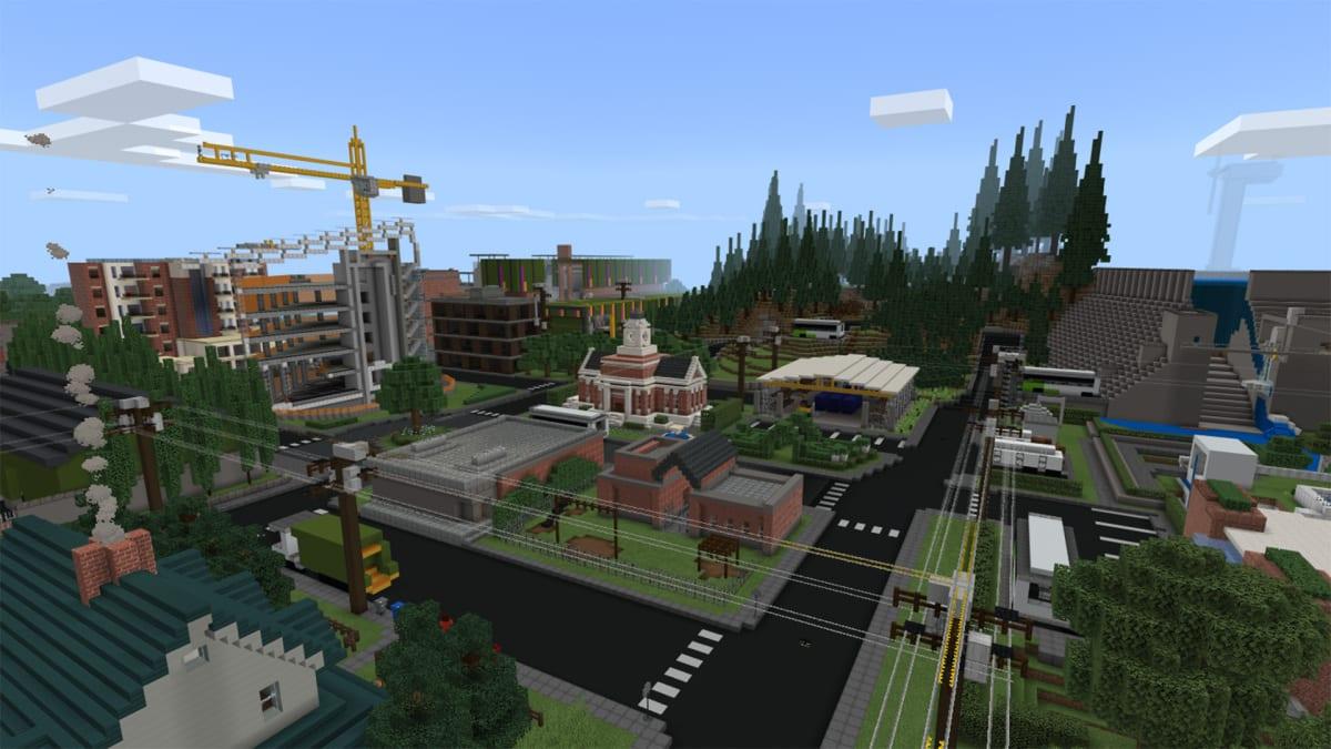Il rapporto di sostenibilità di Microsoft diventa una mappa di Minecraft