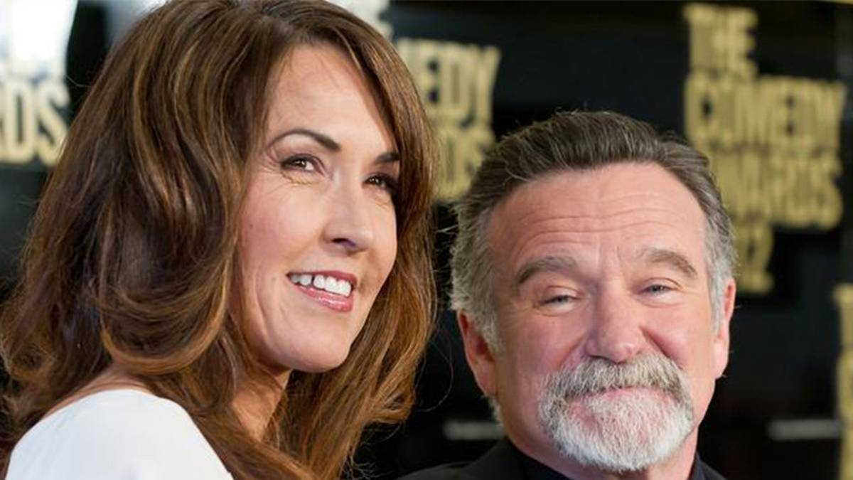 Robin Williams: la vedova Susan Williams vuole far luce su molti malintesi