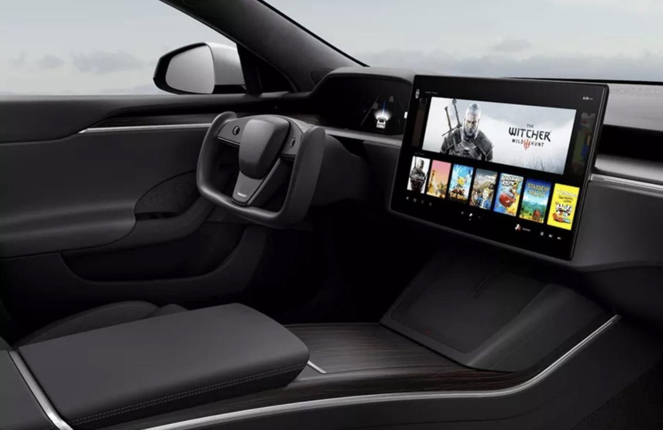 Tesla Model S: un mostro di potenza al servizio dei videogiochi