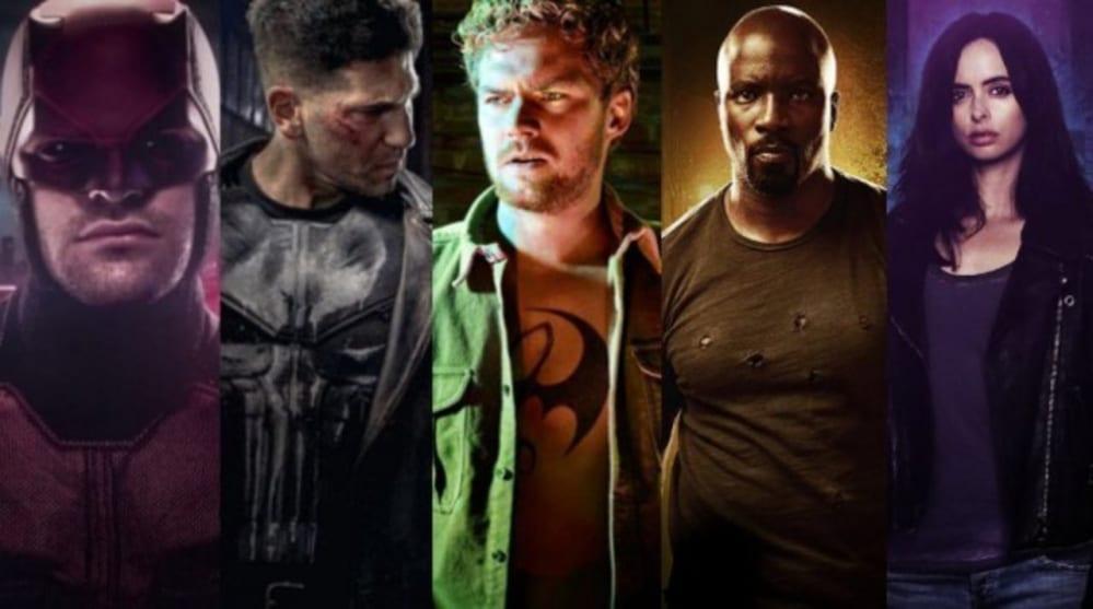 Daredevil, Jessica Jones, Luke Cage