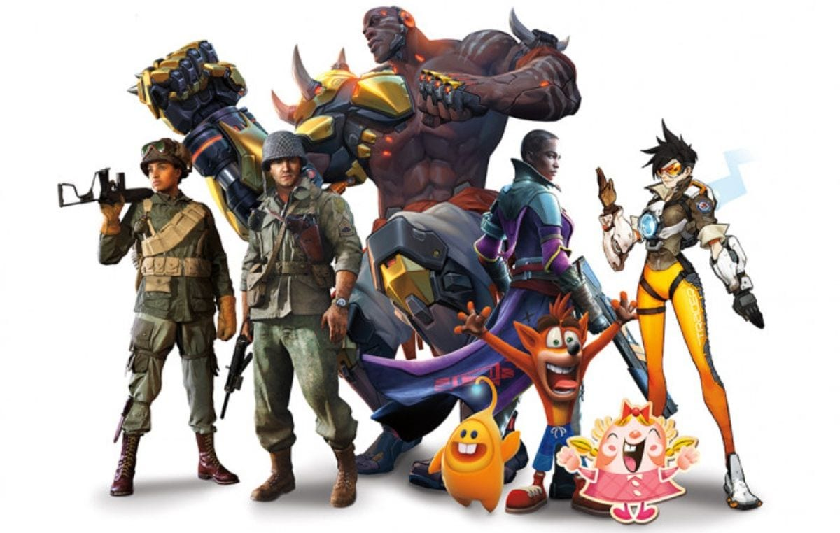 activision blizzard characters