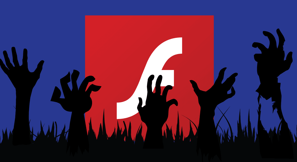 adobe flash zombie