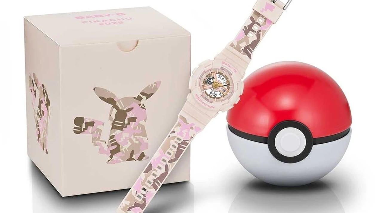 Pokémon e Casio, un amore rinnovato nel nuovo orologio Baby-G