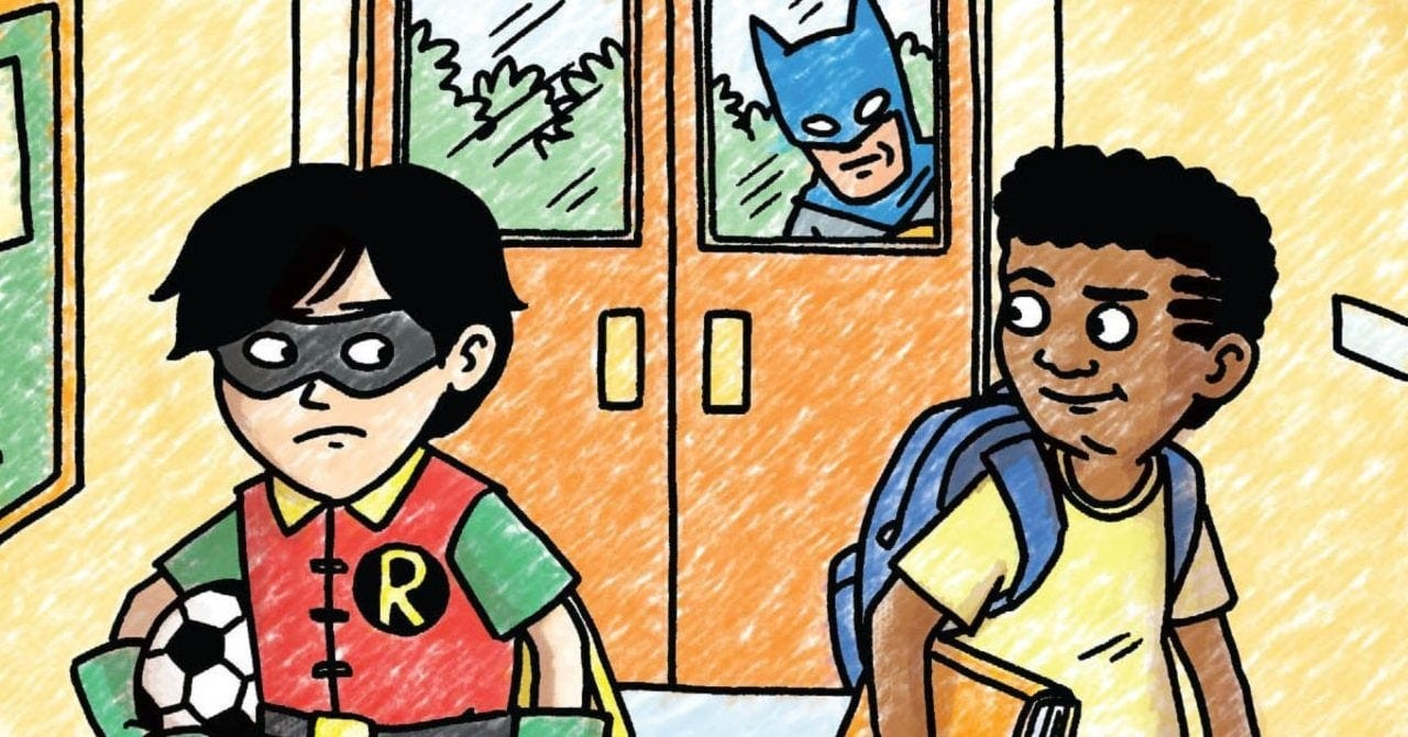 Batman and Robin and Howard: le prime pagine del fumetto di Jeffrey Brown