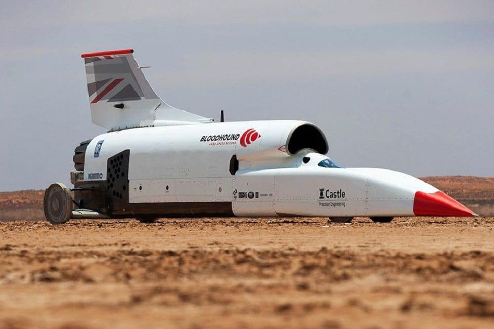 Bloodhound, l'autorazzo da 1.600 km/h in vendita per 11 milioni di dollari