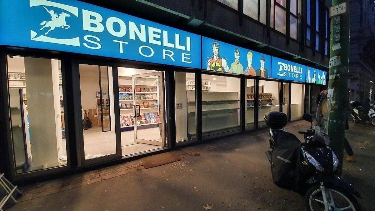 Bonelli Store: ha aperto a Milano il primo punto vendita Bonelli Editore