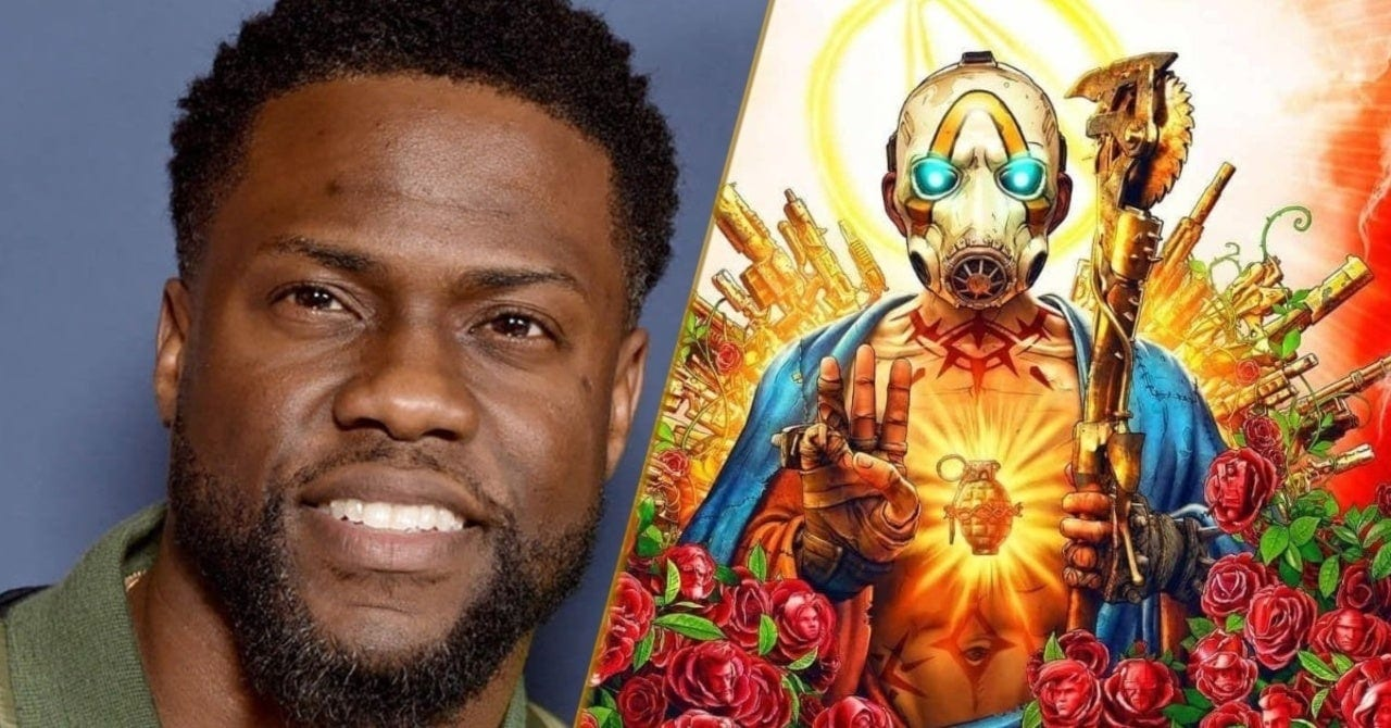 Borderlands: Kevin Hart interpreterà il personaggio principale