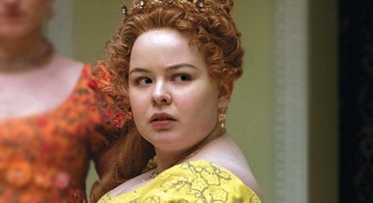 Bridgerton: sul set della serie insieme a Penelope Featherington