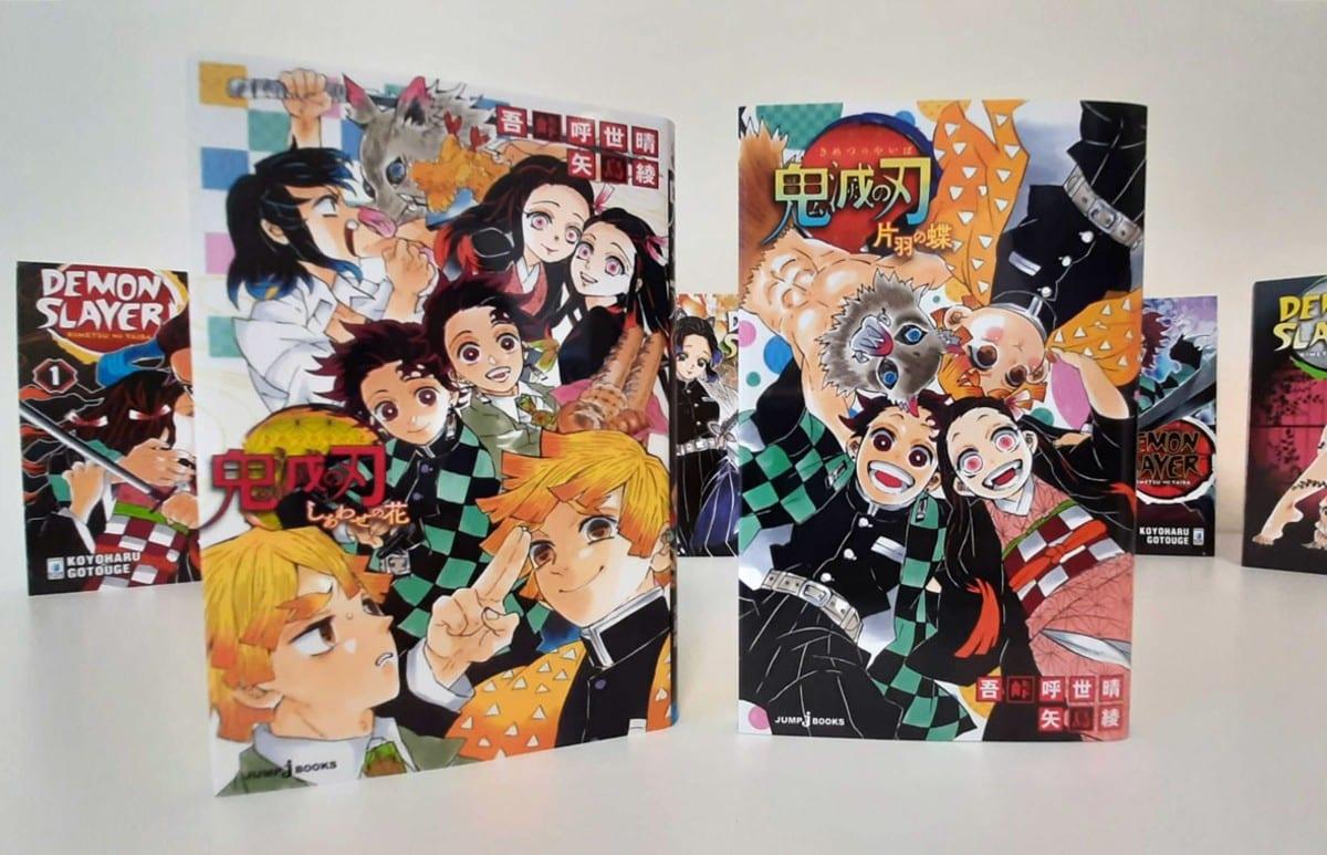 Demon slayer: in arrivo due romanzi ispirati al manga