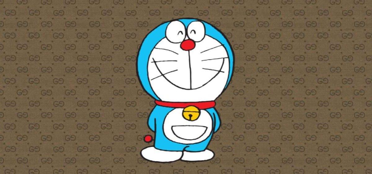 Doraemon x Gucci: ecco la collezione di lusso dedicata al gatto spaziale