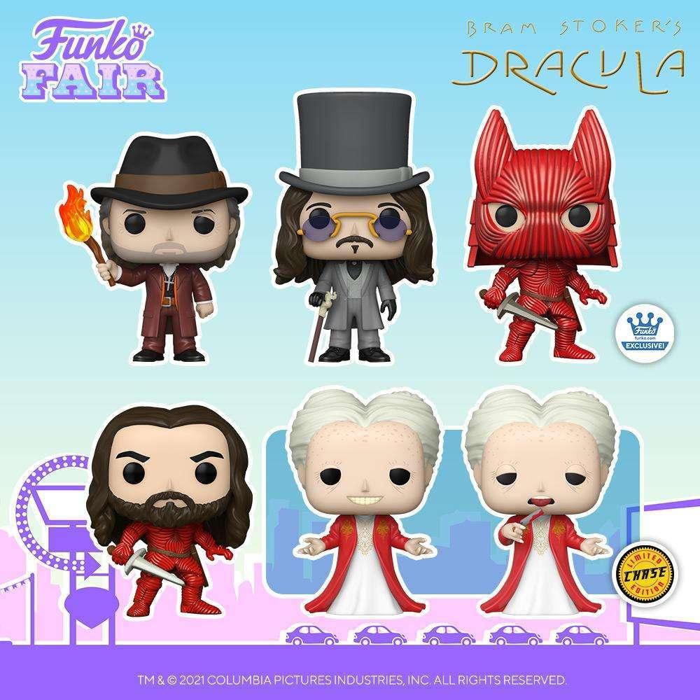 Dracula di Bram Stoker: i Funko Pop! dedicati al film
