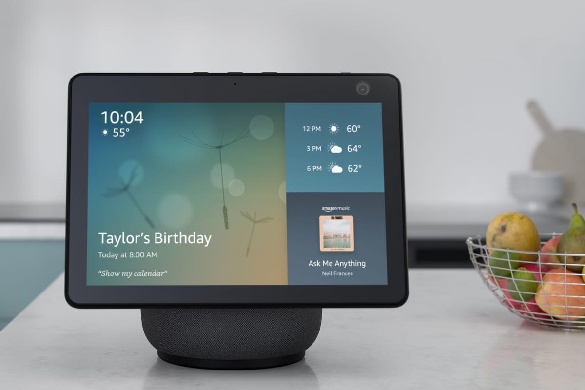 Il Nuovo Amazon Echo Show 10 ha una data d'uscita ufficiale
