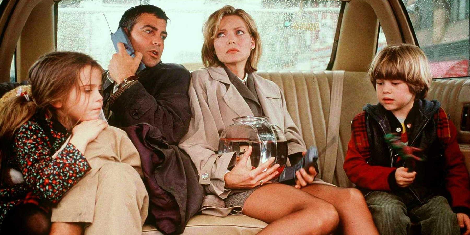 George Clooney confessa di essere stato ubriaco sul set con Michelle Pfeiffer