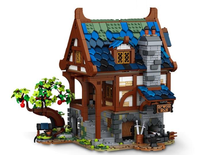 lego medieval blacksmith