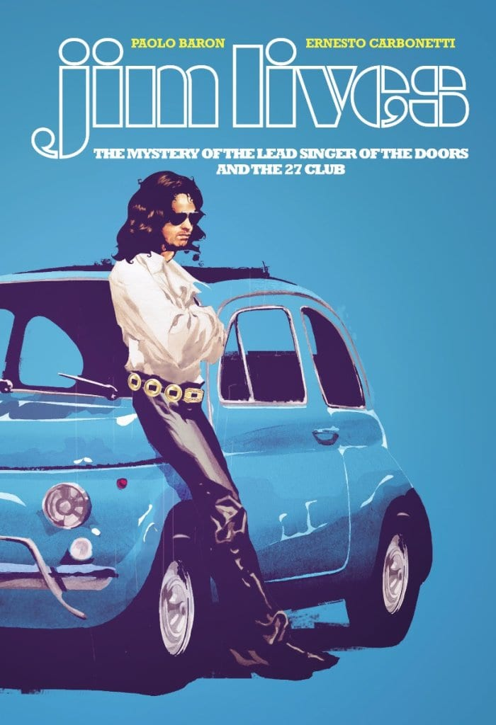 Jim Lives: la graphic novel dedicata al cantante dei The Doors