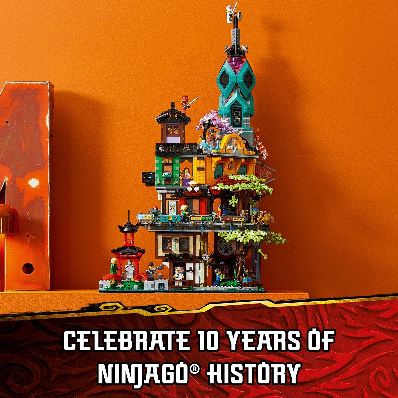 LEGO Ninjago City Gardens, tutti i dettagli rilasciati ...