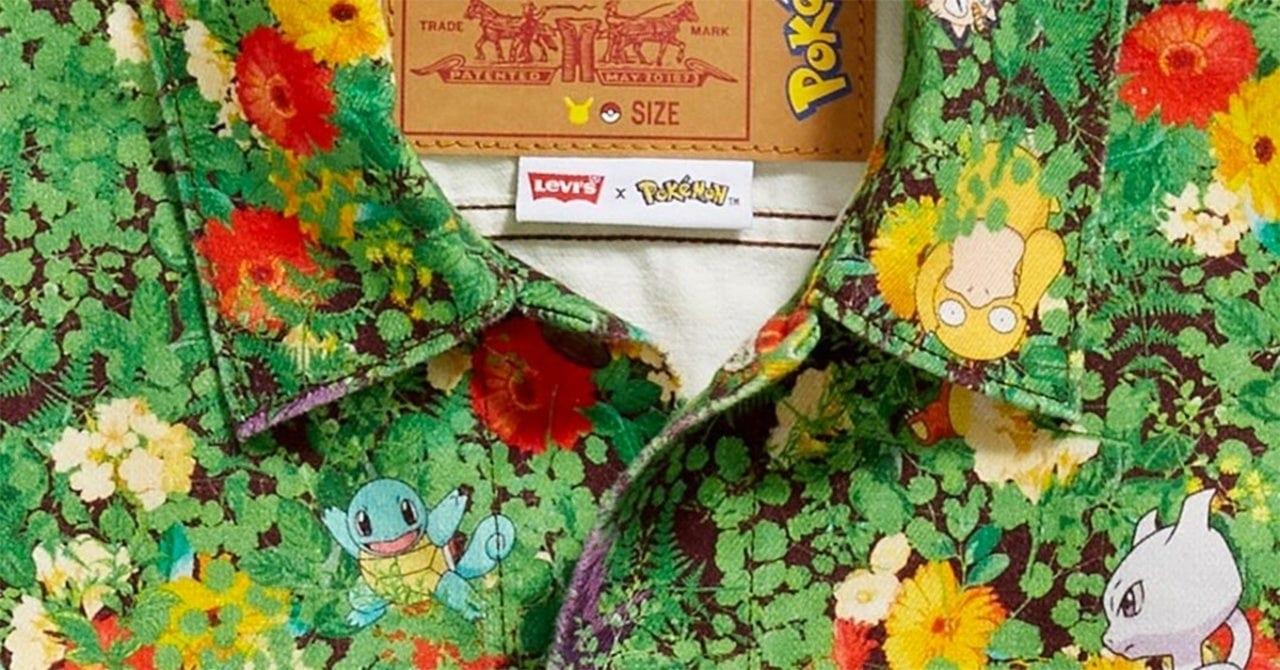 Pokémon avrà una collezione di abbigliamento per Levi's