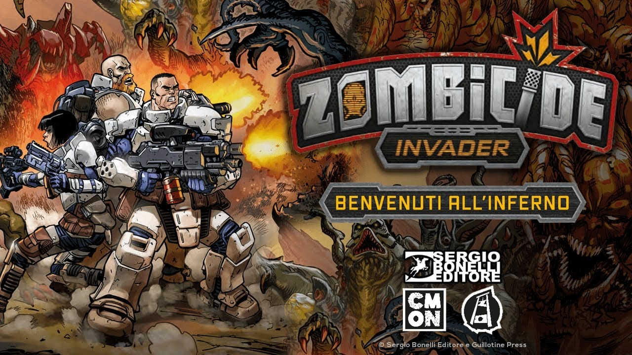 Zombicide Invader: dal 28 gennaio il fumetto della Sergio Bonelli Editore