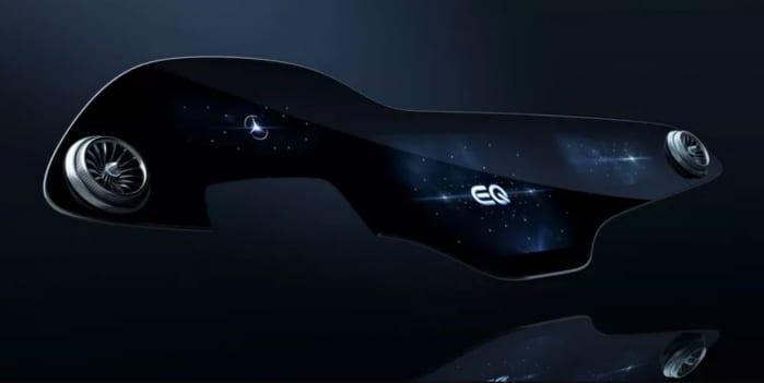 Mercedes EQS, in un video si intravedono i fari posteriori