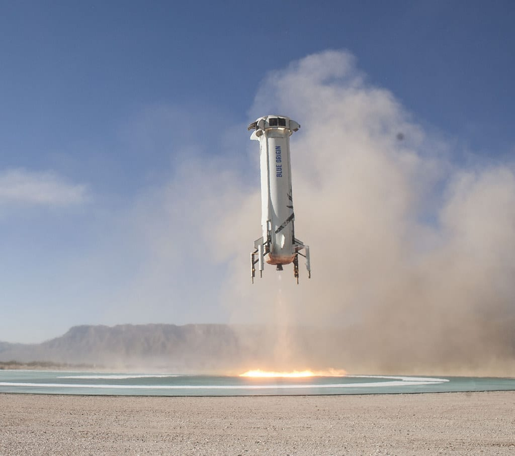 Blue Origin: oggi la New Shepard al test di volo suborbitale