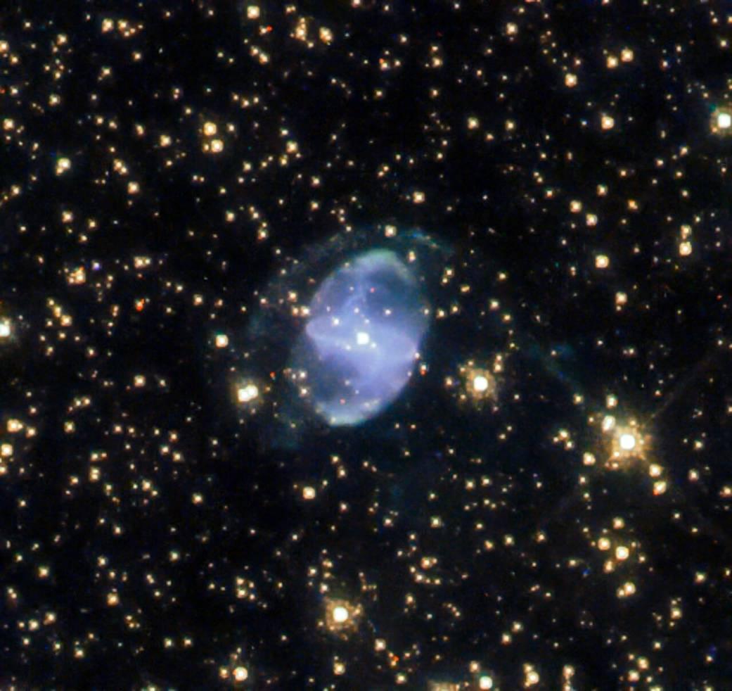 Nebulosa planetaria: la nebulosa ESO 455-10 nello scatto di Hubble