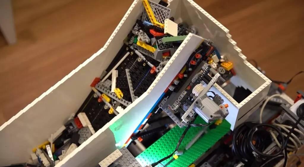 Raspberry Pi smista i mattoncini LEGO: ecco come funziona