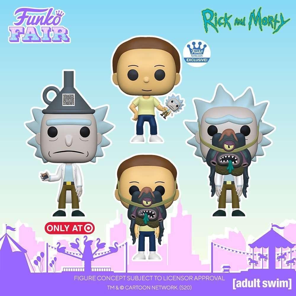 Rick e Morty: i nuovi Funko Pop! dedicati alla serie animata