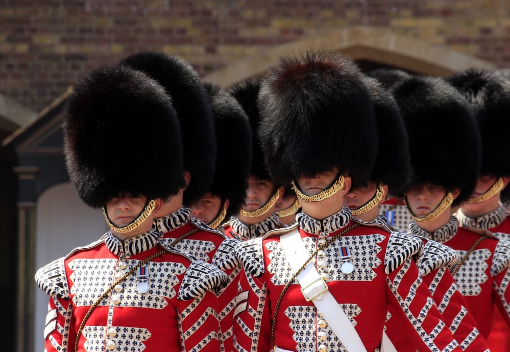 guardie reali inglesi