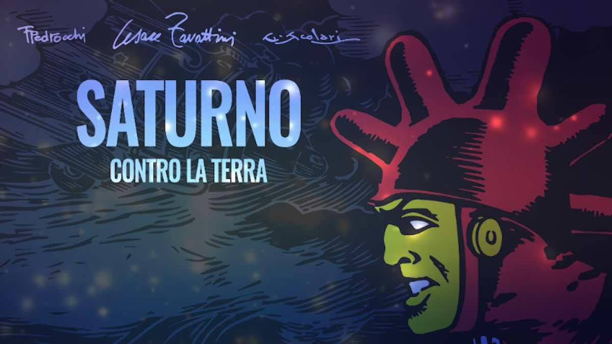 Saturno contro la Terra: il fumetto torna in un'edizione di lusso