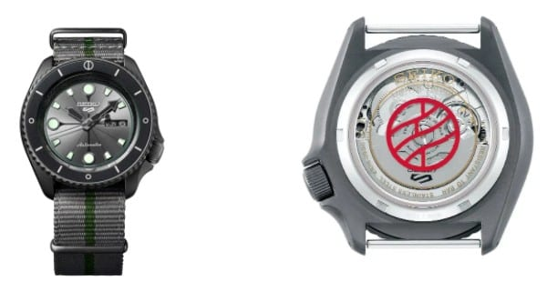 Naruto: gli orologi in edizione limitata firmati da Seiko